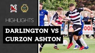 Darlington 1-2 Curzon Ashton - Vanarama National League North - 2018/19