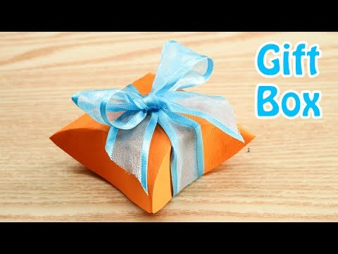 Easy Origami Cute Gift Box - How to Make Cute Gift Box Step by Step