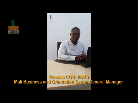 Moussa COULIBALY, General Manager of The Mali Business and Orientation Center