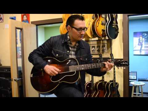 Carter Vintage - Chris Scruggs - First Gibson L-5