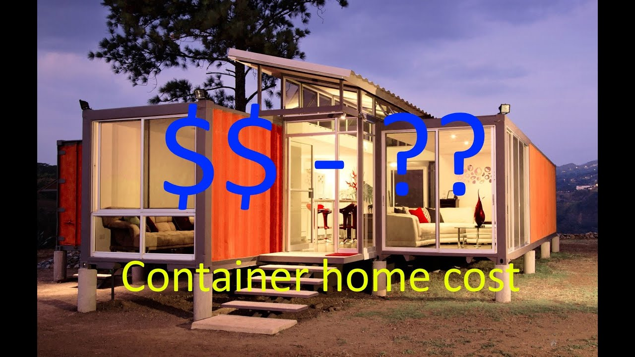 Shipping container home cost to build cheap or expensive for Build a home for under 100k
