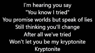 Thorsteinn Einarsson - Kryptonite LYRICS