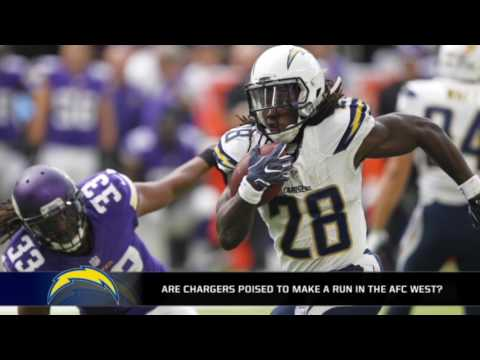 Can the Chargers make a run in the AFC West this year?