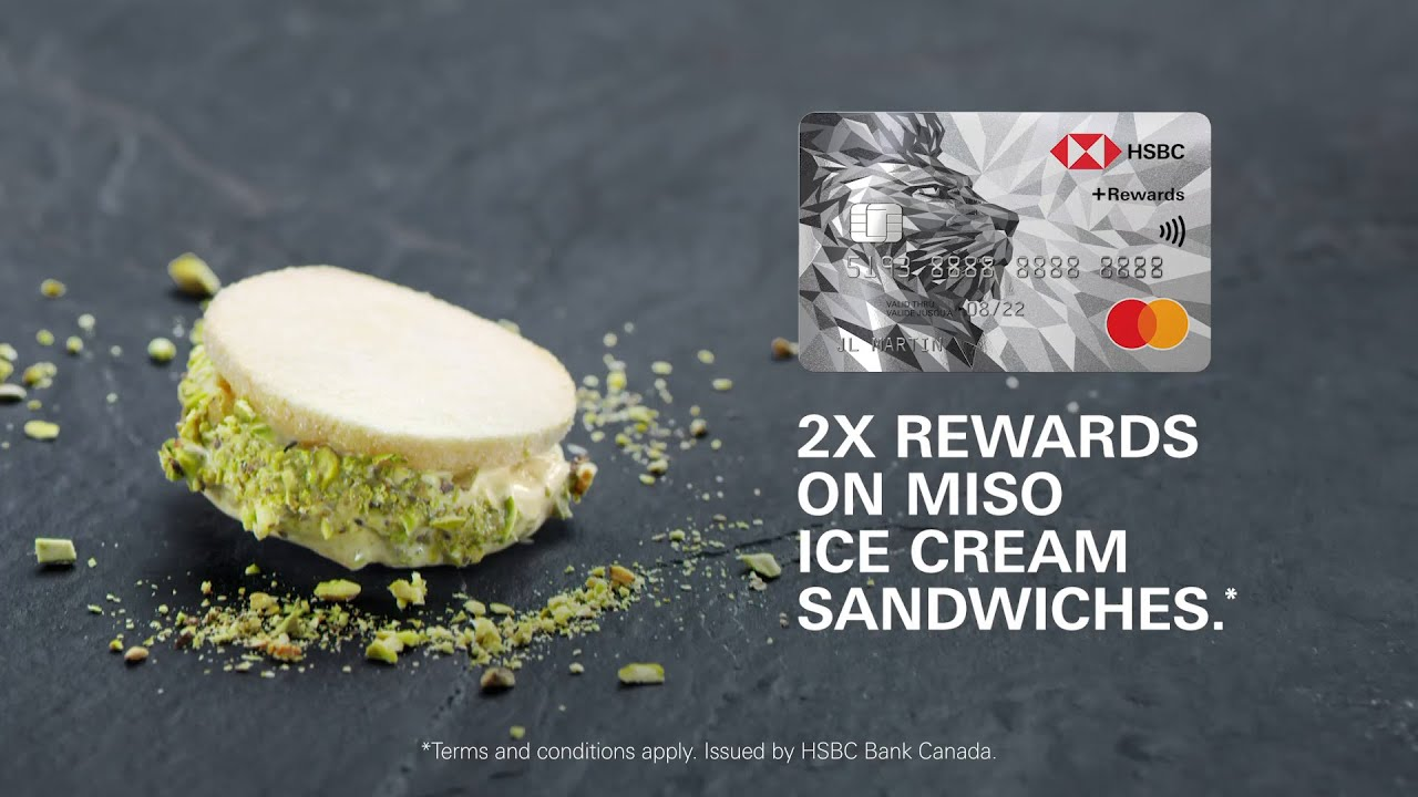 UNEXPECT MORE with The HSBC +Rewards Mastercard