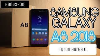 Turun Harga!! Hands On Samsung Galaxy A8 2018