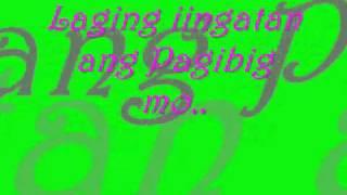 Dahil minahal mo ako by Sarah Geronimo w/lyrics