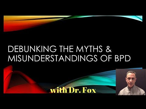 Debunking The Myths & Misunderstandings of Borderline Personality Disorder