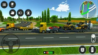 Drive Simulator 2 ▶️ Best Android Games - Android GamePlay HD - Construction Small #12
