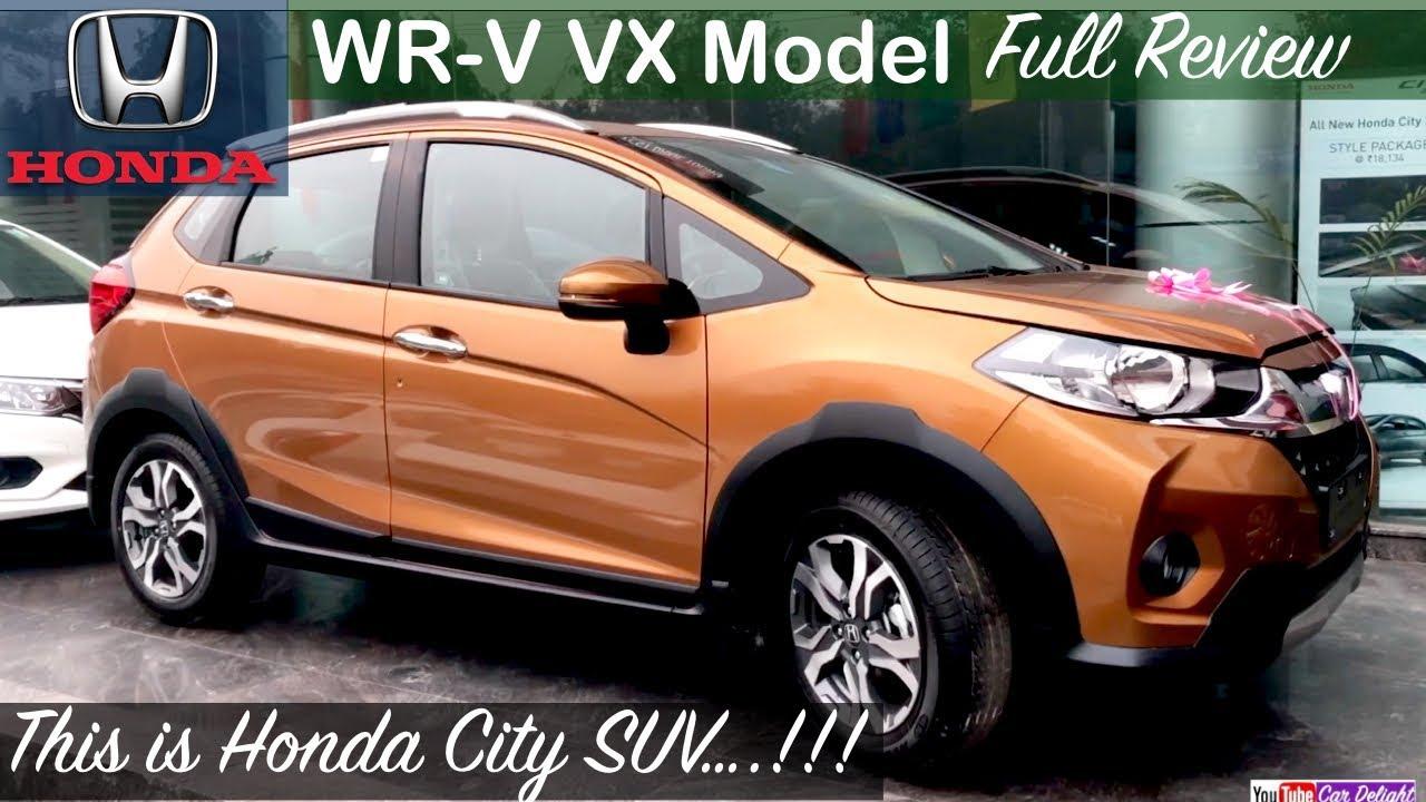Honda Wrv Vx Model Review Interior Exterior And Features Review Youtube