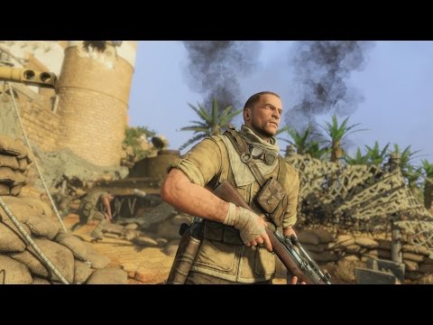 Sniper Elite 3 - First 15 Minutes Of Gameplay [1080p 60FPS HD]