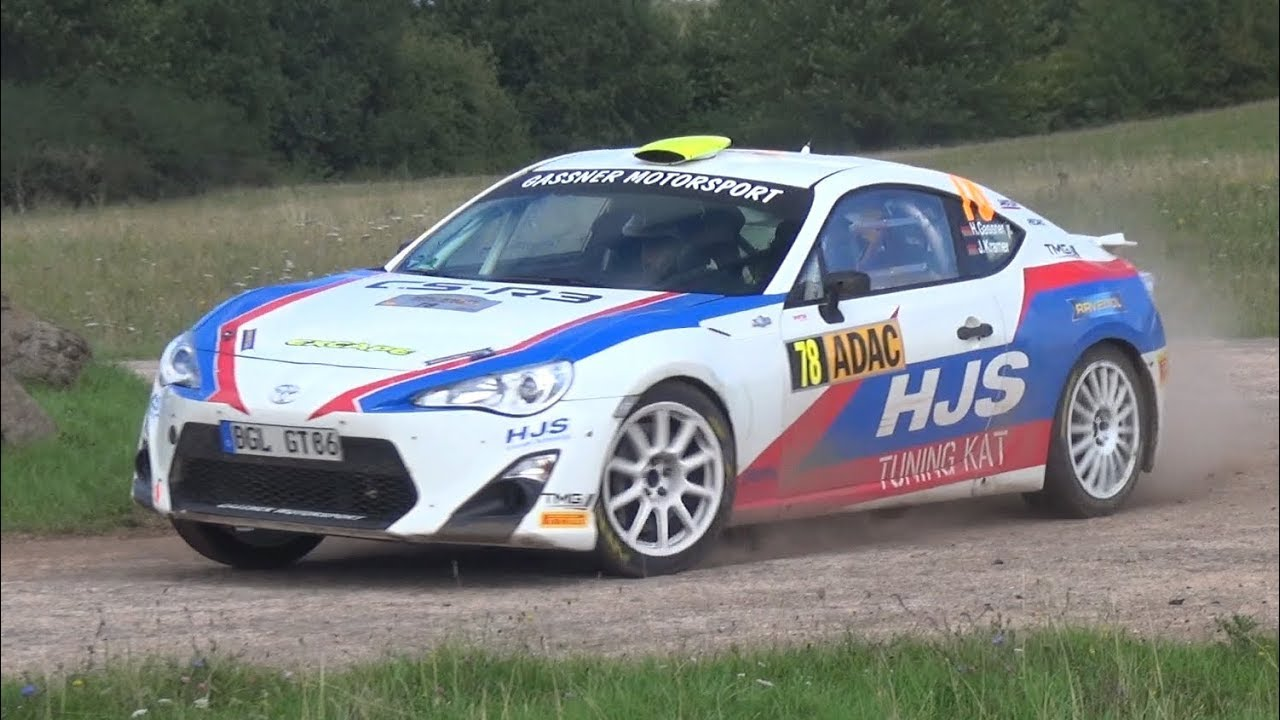 Toyota GT86 CS-R3 Rally Car - Intake Sound & Action at WRC Rallye ...