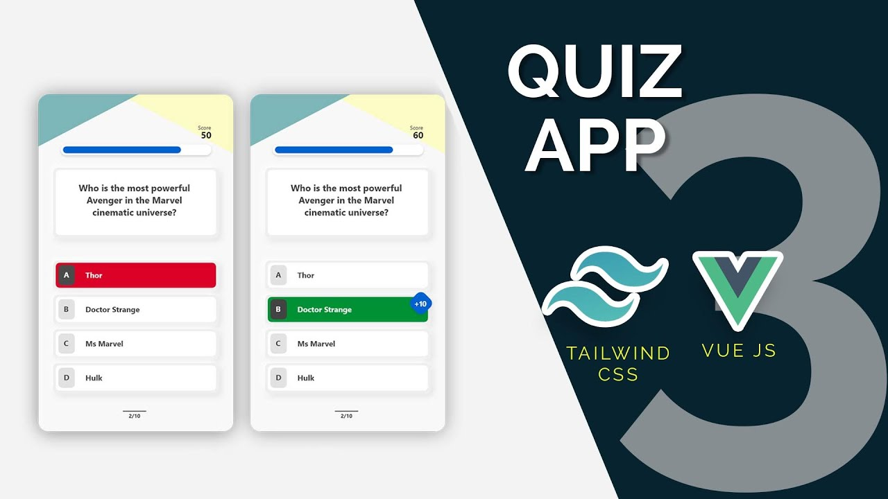 Quiz App with Vue, Tailwind and Open Trivia API Part 3: Load questions