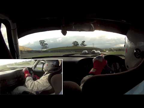 Onboard with David Withers & Rick Bates @ SMSP - 1974 Carrera Group Sc Historic - Race