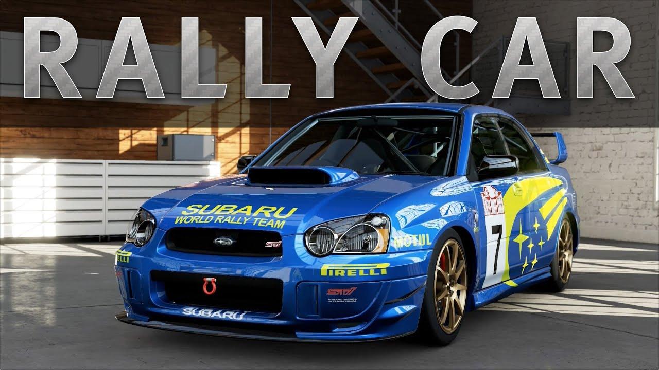 Subaru Impreza Wrx Sti Rally Car Wallpaper Forza 5 Car Build Subaru Impreza Rally Car Youtube