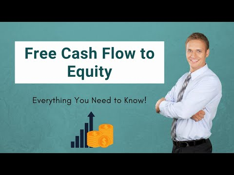 Free Cash Flow to Equity FCFE (Formula, Examples)   Calculation - YouTube