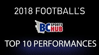 The Hub's TOP TEN Football Performances of 2018!!!