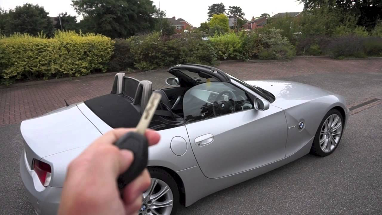 Z4 Roof Open And Close Youtube