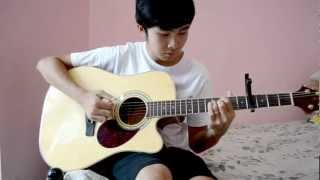 Vanessa Carlton - A Thousand Miles (Fingerstyle cover by Jorell)