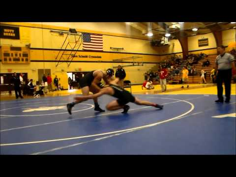 Cody Stanley Henry Ford College round 1 match