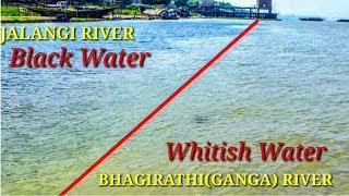 MAYAPUR SANGAM OF BHAGIRATHI & JALANGI RIVER, NABADWIP    MAYAPUR TO KRISHNAGAR BY BOAT   