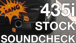 435i bmw sound check stock exhaust serien sound f30 f32 f33 f36 335i