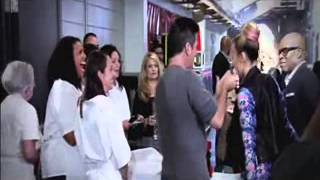 Demi vs Simon: The X Factor 2012 best moments ( Sub Español)