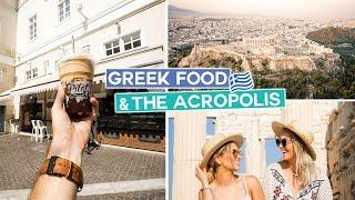 Trying Greek Food + Exploring The Acropolis