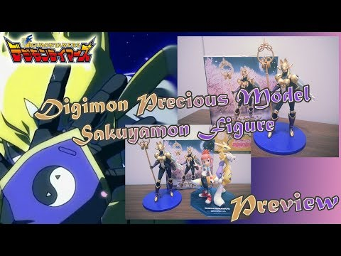 Digimon Tamers - Digimon Precious Model Sakuyamon Figure.:Unboxing Preview:.
