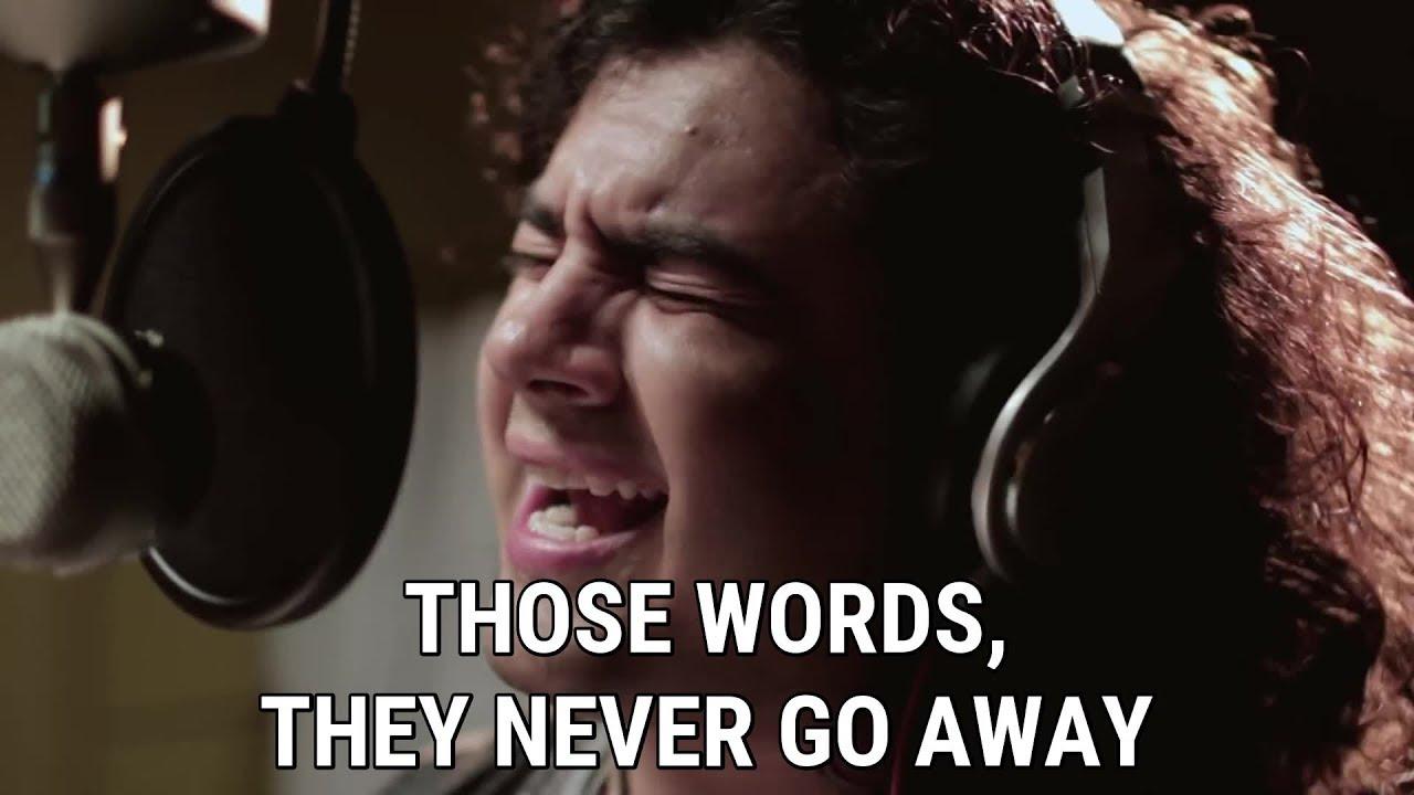 What are words [Lyrics - Karaoke] -  Chris Medina