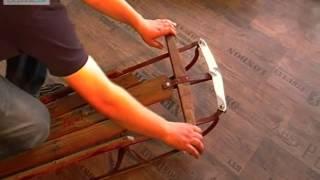 Luge directionnelle 1950 USA. A vendre sur www.clicpublic.be