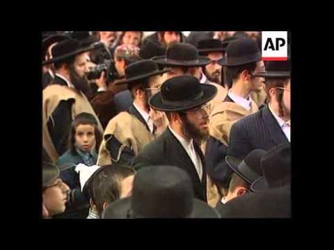 Israel - Ultra-Orthodox Jews Stage Protest