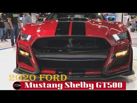 2020 Ford Mustang Shelby GT500 Exterior Walk-around - Auto Show