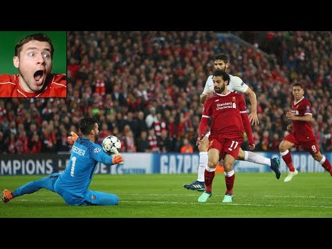 Liverpool 5-2 as roma live reactions to goals | fanzone highlights