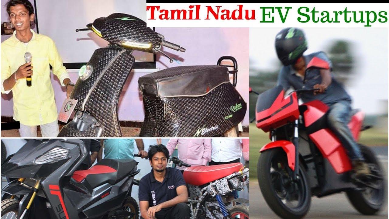 Electric Vehicles Startups in Tamil Nadu - EV Startups India