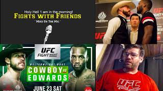 UFC Singapore at 1 am?!? Holy #$% tune in for this stream, someone buy me some coffee!