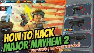 How to Hack Major Mayhem 2 (no app Needed) screenshot 3