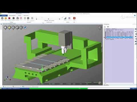 ALPHACAM 2021.0 | NCSIMUL - Move Material