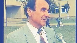 Степан Жупанин-поет,професор .Інтерв''ю, відкритий урок у школі с Страбичово  1999р.