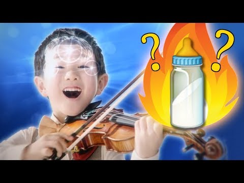 Ling Ling&39;s Milk? Weird and Funny Ads with Violin