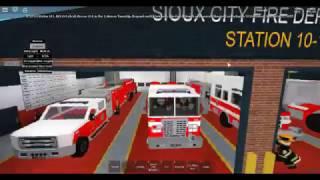 ROBLOX-Sioux City Fire Department risponde a un MVA che coinvolge RE-1011