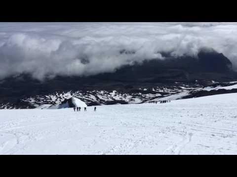 Climb volcano Villarrica 10 October