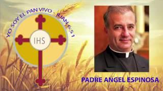 Padre Ángel Espinoza de los Monteros. Congreso Eucarístico de la Diócesis de Charlotte. 2018