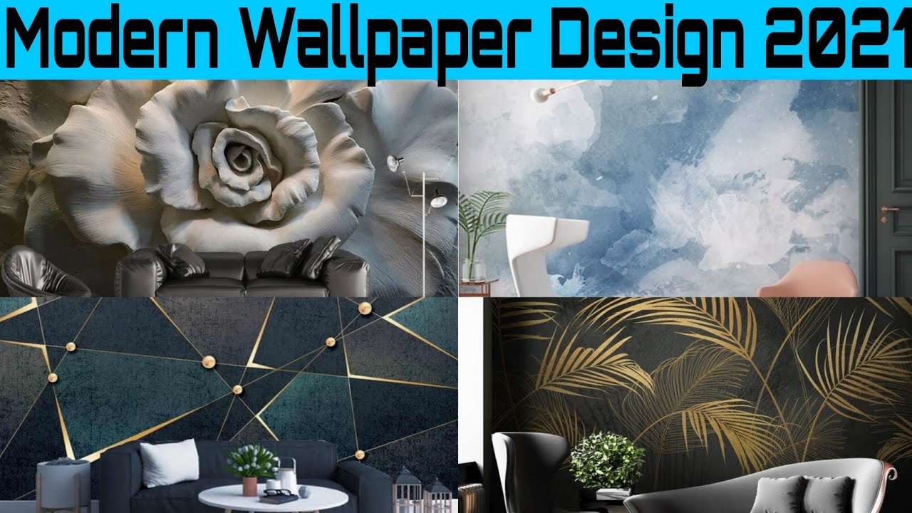 Latest Wallpaper Design For Home 2021 Wall Decoration Ideas Drawing Room And Bedroom Wall Design Youtube