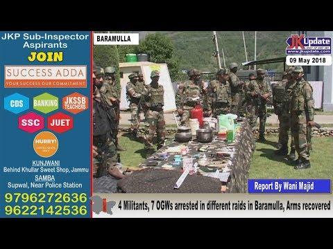 Jammu Kashmir News Round Up 09  May  2018