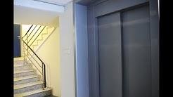 1999 KONE EcoDisc elevator (replaced an older elevator) @ Strømgade 6, Hjørring, Denmark