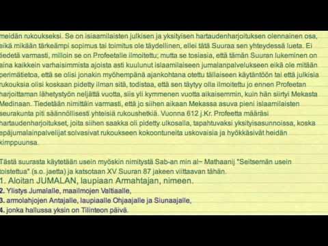 Koraani Suomeksi