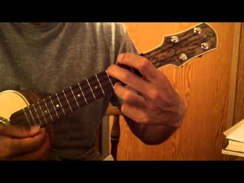 how to play sunny side of the street on ukelele