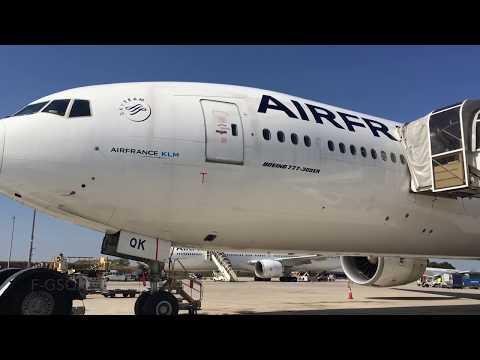 AIR FRANCE NEW ECONOMY CLASS |PARIS - SHANGHAI | BOEING 777-300ER