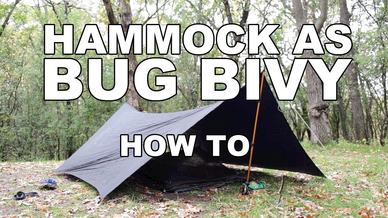 & Hammock as a Bivy - How To - YouTube