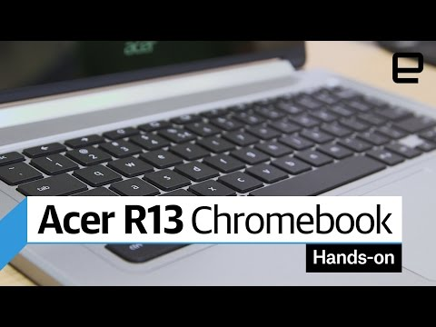 Acer R13 Chromebook: Hands-on